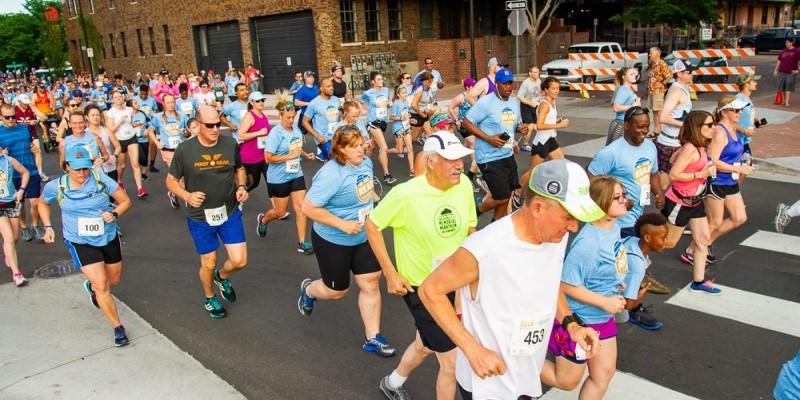 Get Your Rear in Gear Wichita 5k run