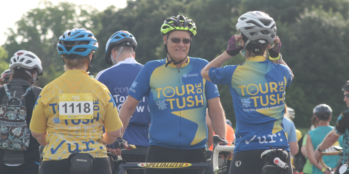 Tour de Tush Allentown riders