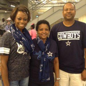 Rosetta VanPelt Dallas Cowboys friends