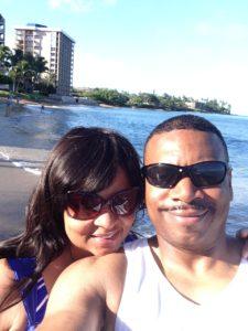 Rosetta VanPelt husband beach