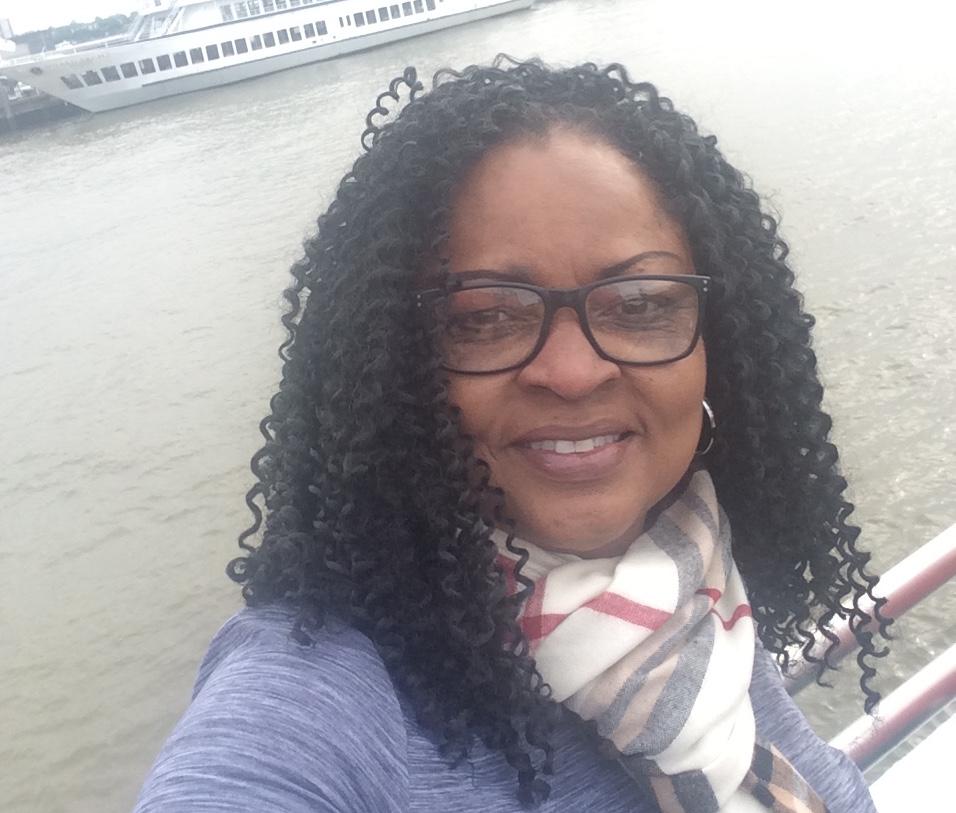 Rosetta VanPelt River selfie