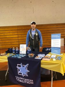 Eric Powell volunteer coalition table