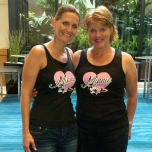 Michele McKeen Debbie Whitmore Minnie Mouse tank tops