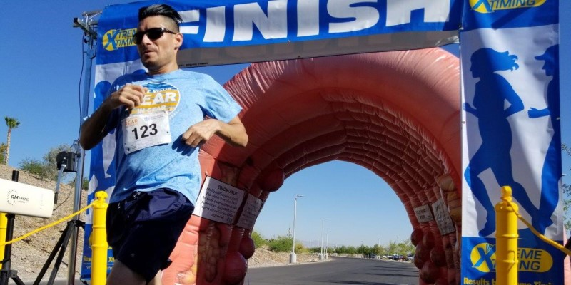Get Your Rear in Gear Las Vegas Finisher