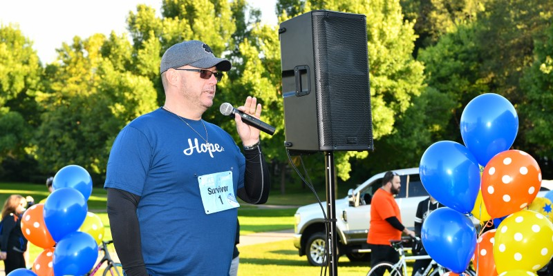 Get Your Rear in Gear Twin Cities survivor speaker