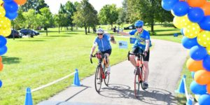 Get Your Rear in Gear Twin Cities tour de tush finish