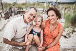 Alison Kaspersetz family beach photoshoot