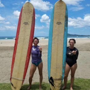 Alison Kaspersetz surfboard surfing surf