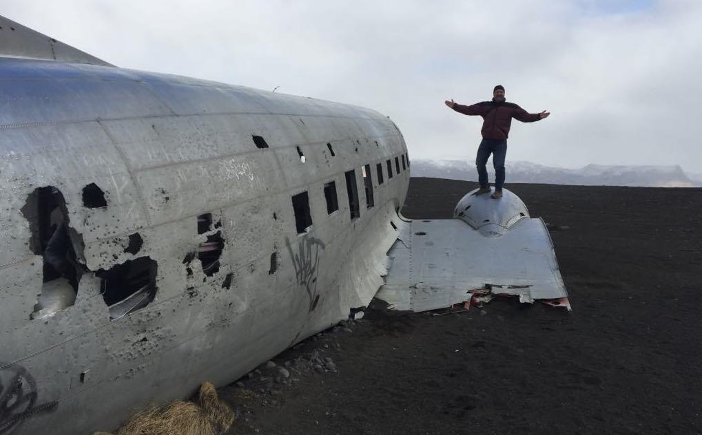 Doug in Iceland