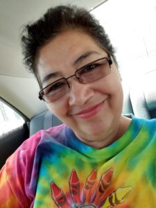 Elsy Monterrosa pixie cut selfie