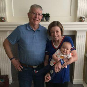 Alice Marshall grandbaby grandchild husband