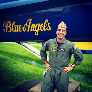 Ben White Blue Angels Navy