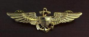 Ben White Navy wings of gold