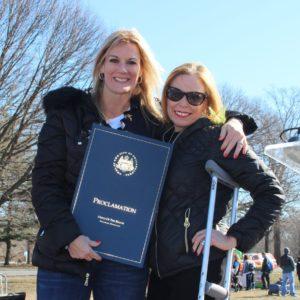 Maria Grasso with Sheila Hess, City Representative, City of Philadelphia_sqq