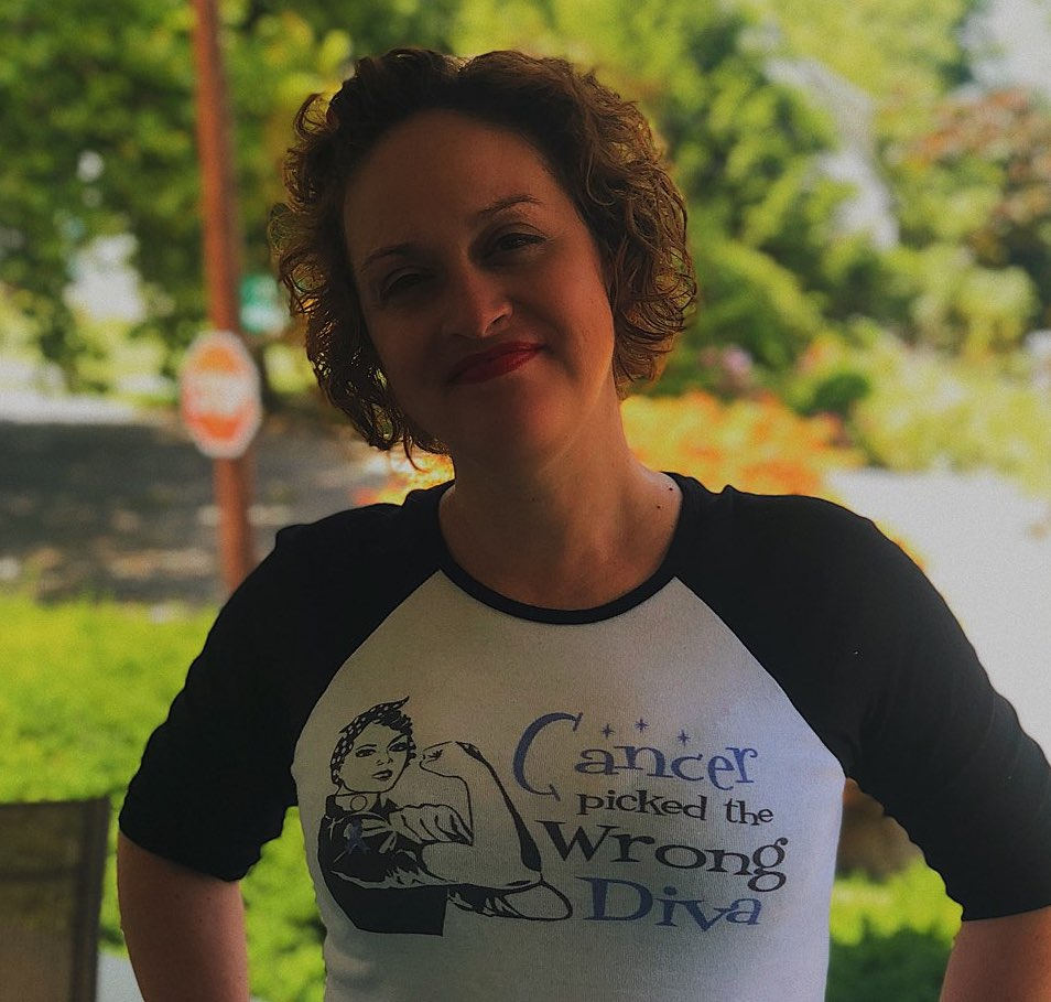 Rosalie Rodriguez Cancer picked the wrong diva shirt
