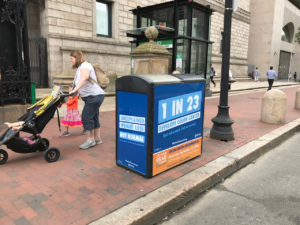 Boston Recycling Kiosk