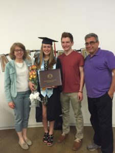 Guy Edwards family daughter graduation Rochester Institute of Technology New York