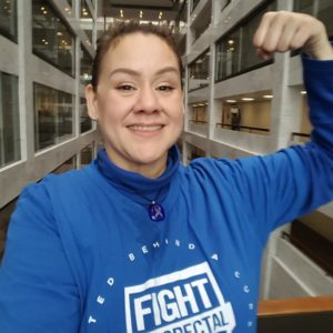Vanessa Ghigliotty fight crc colorectal cancer