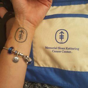 Vanessa Ghigliotty Memoral Sloan Kettering MSK tattoo