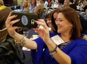 Vanessa Ghigliotty selfie conference