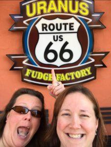 Heather Tucker uranus fudge factory route 66