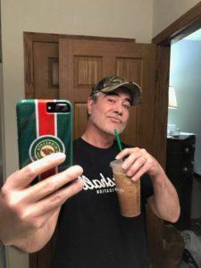 John SARZOZA coffee selfie wild hockey