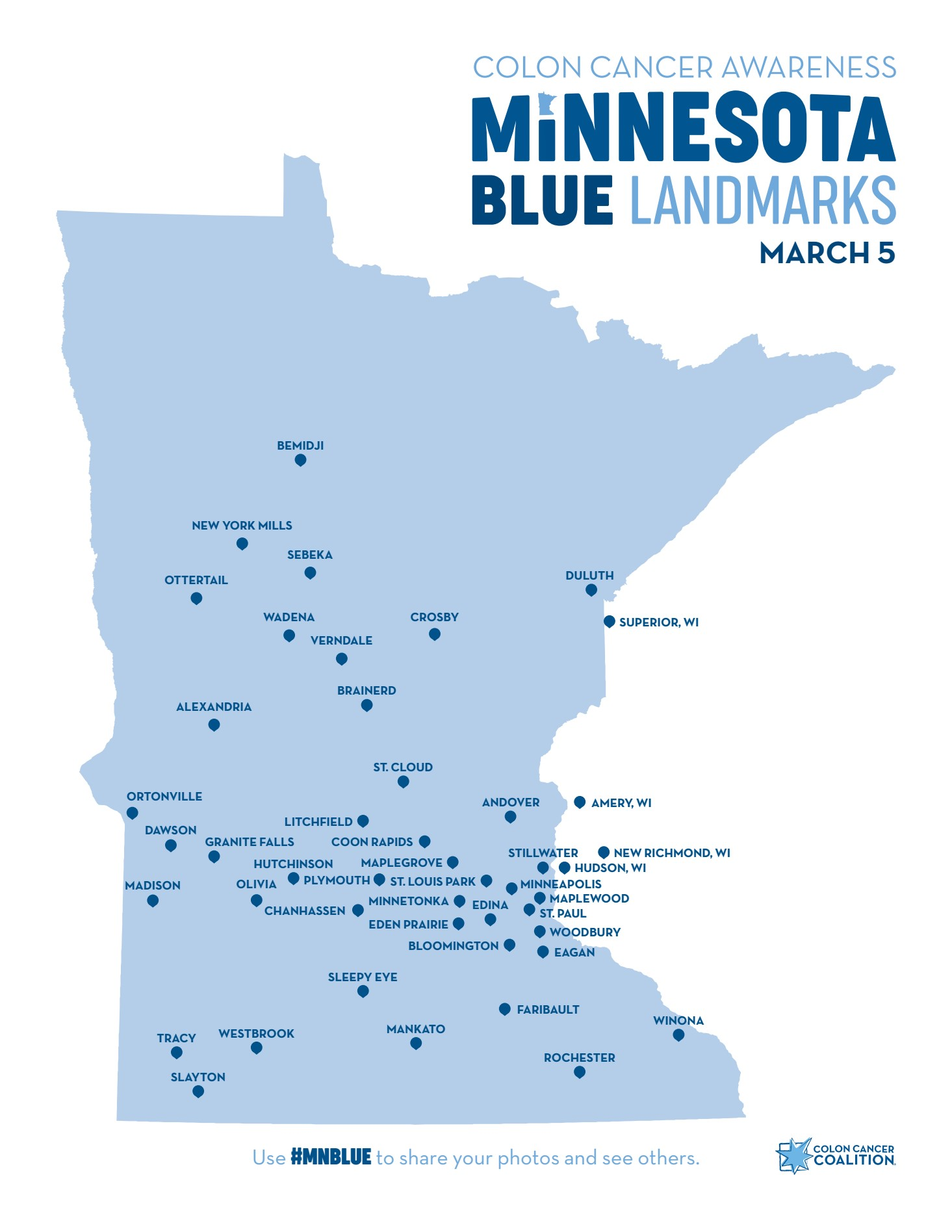 Mn Blue 2019 Colon Cancer Coalition