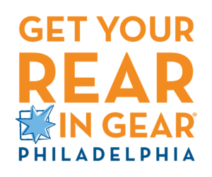 Get Your Rear in Gear Philadelphia logo