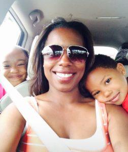 karen rice daughter grandkids car selfie