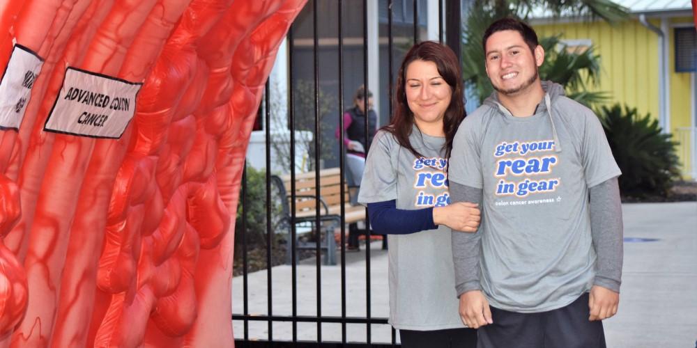 Get Your Rear in Gear San Antonio couple