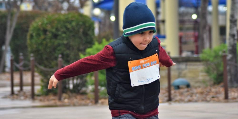 Get Your Rear in Gear San Antonio kid run