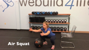 Summer Strength Challenge Squat