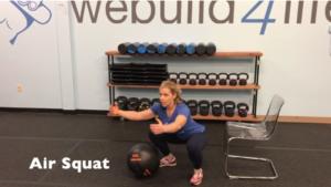 Summer Strength Challenge Squat