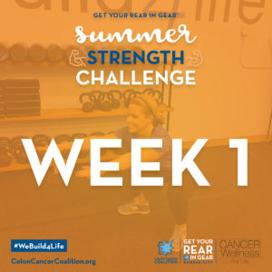 Summer Strength Challeng Week 1