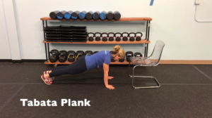 Summer Strength Challenge Plank