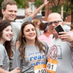 Get Your Rear in Gear Wichita family selfie