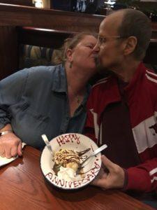 Larry Paula Sanders Anniversary sundae