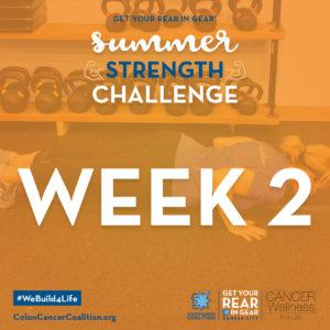 Summer Strength Challenge Week 2
