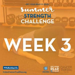 Summer Strength Challenge Week 3