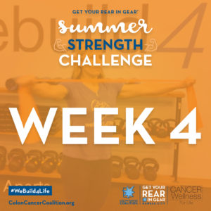 Summer Strength Challene Week 4