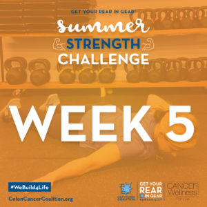 Summer Strength Challenge Week 5