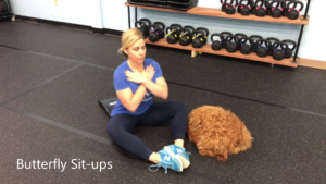 Summer Strength Challenge Butterfly Sit Ups
