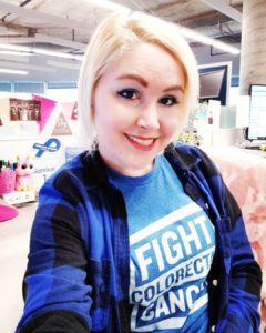 courtney maurer blue fight crc fightcrc