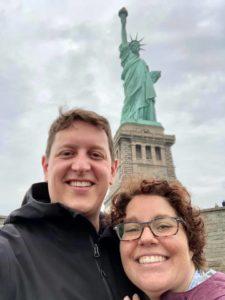 doctor chelsea boet husband new york statue of liberty