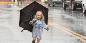 Get Your Rear in Gear Kansas City umbrella