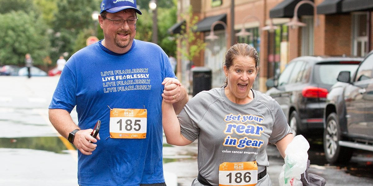 Get Your Rear in Gear Kansas City finishers