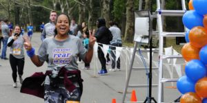 Get Your Rear in Gear New York City finish