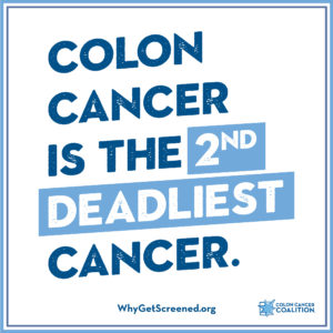 Colon Cancer is the 2nd Deadliest Cancer