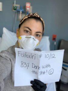Alexa at chemo.
