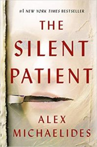 Book cover for The Silent Patient.